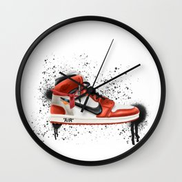 OFF WHITE J1 Wall Clock