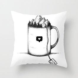 Teatime Throw Pillow