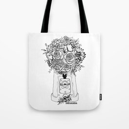 Grow in unfamiliar places Tote Bag