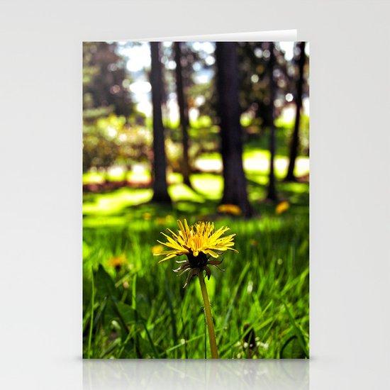 Park dandelion Stationery Cards