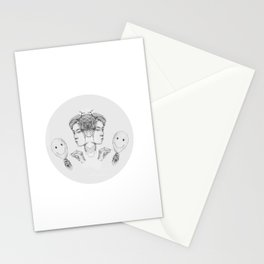 Inner Child of Destruction + Conceit  Stationery Cards