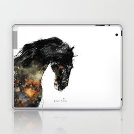 Horse portrait (Distant Galaxy) Laptop & iPad Skin