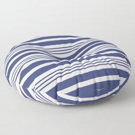 Sailor Blue Stripes 42 Floor Pillow