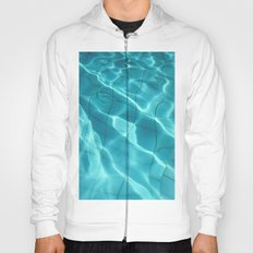 Water / Swimming Pool (Water Abstract) Hoody