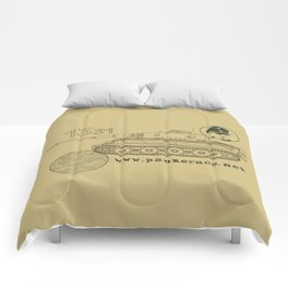 Michael Wittmann Panzer Ace 1331 Kursk Sand/Olive Green Comforters