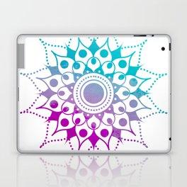 Mandala #2 (Purple Pink Turquiose) Laptop & iPad Skin