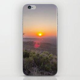 Sunrise on Elam iPhone Skin