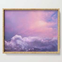 Sunset and Clouds | Blush Pink | Unicorn | Sky Serving Tray