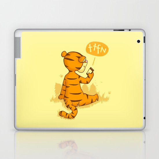 Ta Ta For Now Laptop & iPad Skin