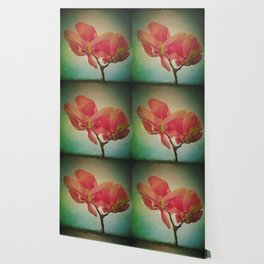 Vintage Spring Flowers Wallpaper
