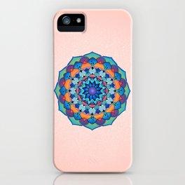 Spring Mandala iPhone Case