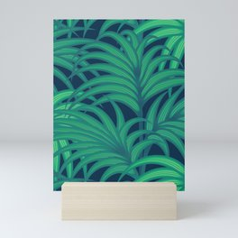 Palm leaves VIII Mini Art Print