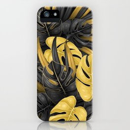 Tropical Gold iPhone Case