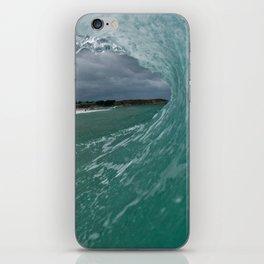 Britanny wave / vague Bretonne iPhone Skin