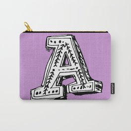A is for... Carry-All Pouch