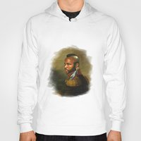 replaceface Hoodies featuring Mr. T - replaceface by replaceface