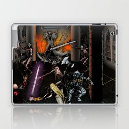 In the Chamber of the Mage-King Laptop & iPad Skin