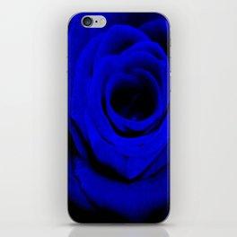 Expansion Blue rose flower iPhone Skin