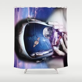 The Universe You Are Seeking Is Within You Shower Curtain