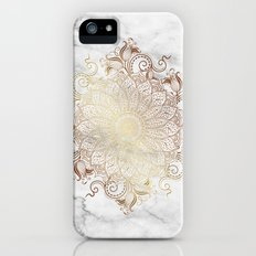 Mandala - Marble gold Slim Case iPhone (5, 5s)