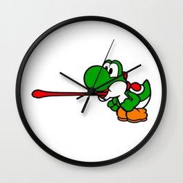 Yoshi Laser Wall Clock