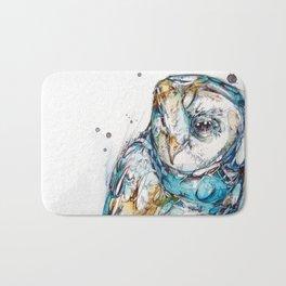 The Sea Glass Owl Bath Mat