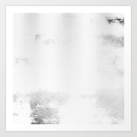 Black & White Abstract Series ~ 6 Art Print