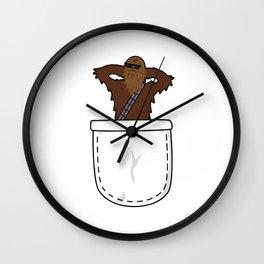Pocket Chewie Wall Clock