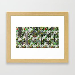 Morganton Mural Framed Art Print