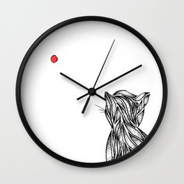 The Red Dot Wall Clock