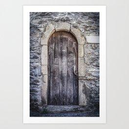 Old French Door Art Print