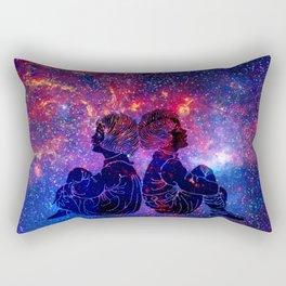 Little Star Gazers Rectangular Pillow