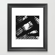 Spiral Staircase III Framed Art Print