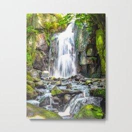 waterfall. Metal Print