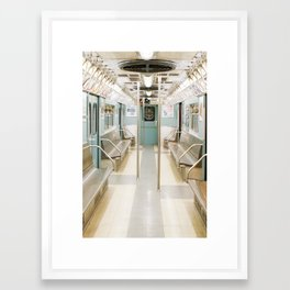 Subway Stories, NYC Framed Art Print