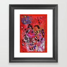 'Cause Love forgives Everything Framed Art Print