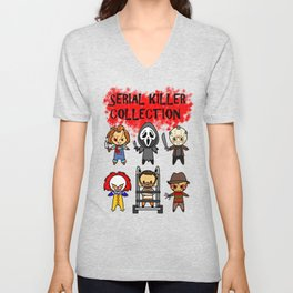 Serial Killer Collection Unisex V-Neck