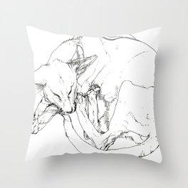 tender Throw Pillow
