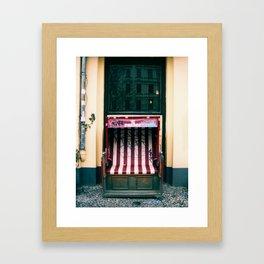 Throne for a Prince Framed Art Print