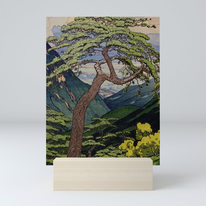 The Downwards Climbing Mini Art Print