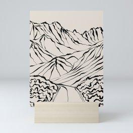 Mountain know the secret Mini Art Print