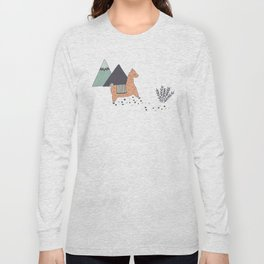 Sleep Walking Llama Long Sleeve T-shirt