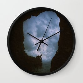 Spirit of the storm Wall Clock