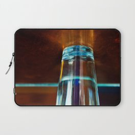 Abstract Colors Through Glass Laptop Sleeve