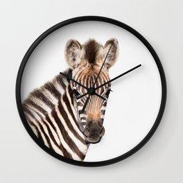 Baby Zebra Wall Clock