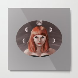 My Moon, My Man Metal Print