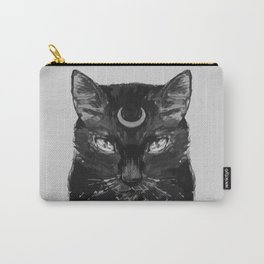 Goth Cat Carry-All Pouch