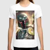 boba fett T-shirts featuring Boba Fett by Mishel Robinadeh