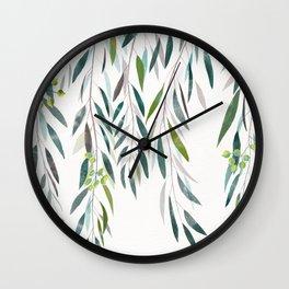 Eucalyptus Drop  Wall Clock