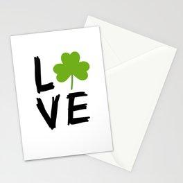 Love St Patricks Day Stationery Cards